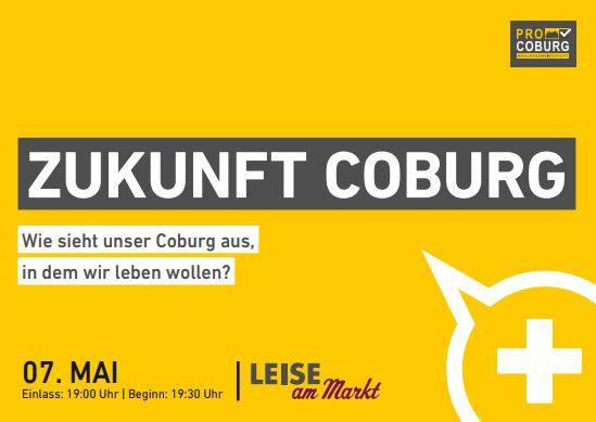 Zukunft Coburg: neues Podium