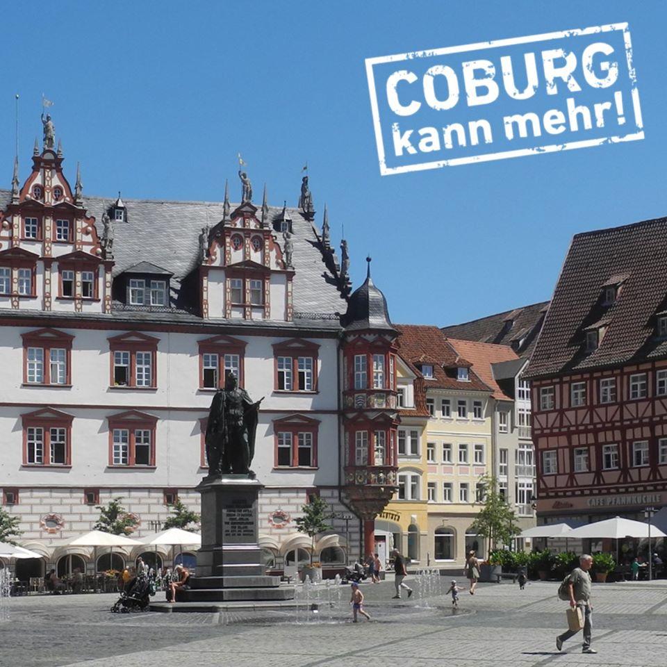 Anträge zur Unterstützung der Coburger Gewerbetreibenden