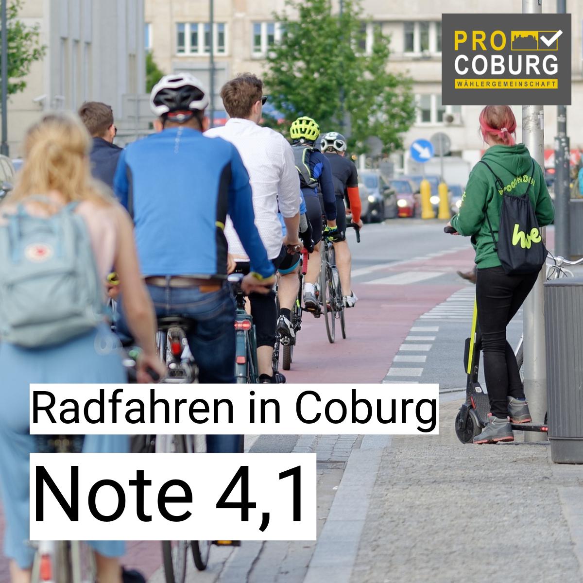 Schlechte Noten für unsere Stadt beim Thema Rad 🚲