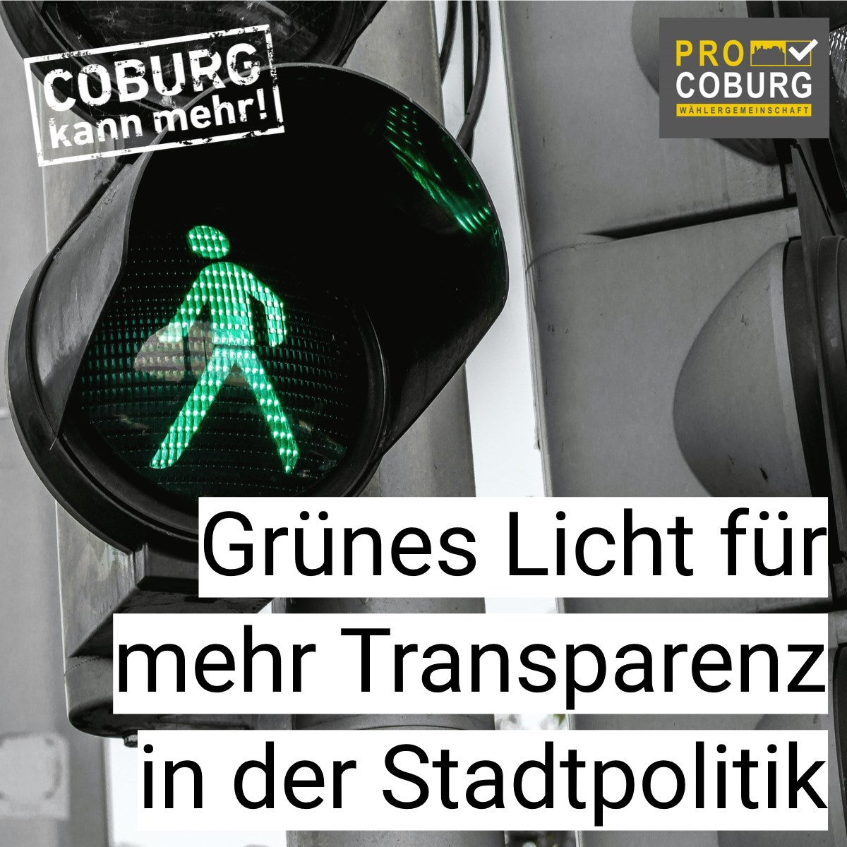 Coburg kann mehr Transparenz